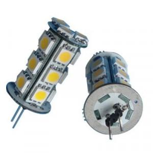2X Ampoules Leds HP24 18 SMD Blanc Xénon feux de jour