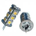 Ampoules Leds HP24 SMD Feux de Jour 6000K