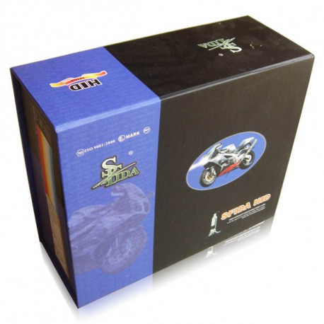 Pack Xénon Moto slim H1 + H9 35/55W
