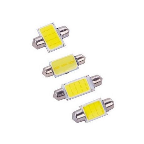 1X AMPOULE 12-LEDS COB C3W C5W C7W C10W