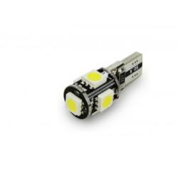1X AMPOULE T10 5-LED W5W Canbus VMAX