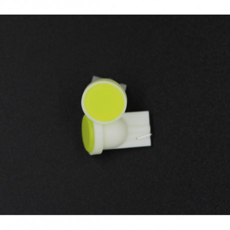 1X AMPOULE T10 - 1 Leds WEDGE céramique W5W