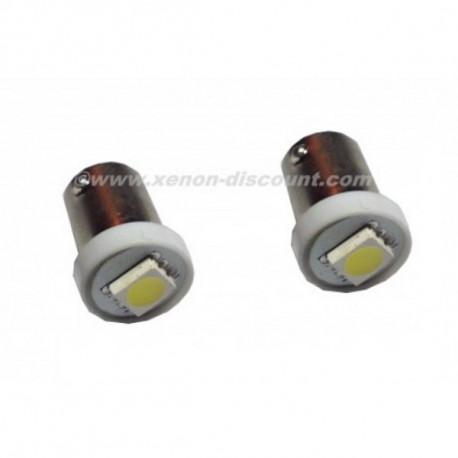1X Ampoule 1 LED SMD - BA15S