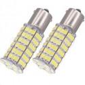 1X Ampoule P21W 120 leds SMD Blanche Culot BA15S