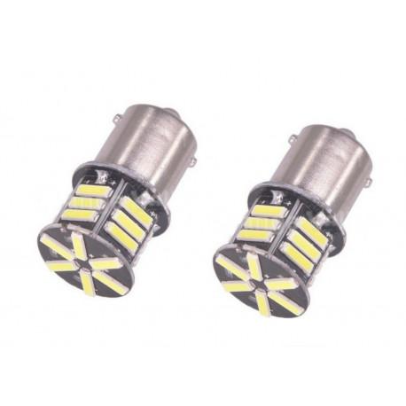 1X Ampoule 21 LEDS SMD Canbus - BA15S