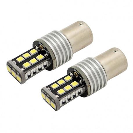 1X Ampoule CANBUS 15 LED SMD - BA15S