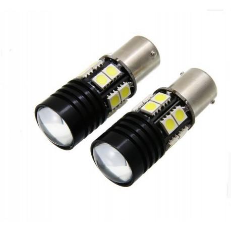 Ampoule 12 LED CANBUS LENTILLE SMD - BA15S