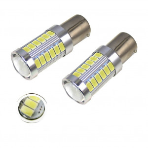 1X Ampoule 33 LED SMD FOCUS - BAY15D