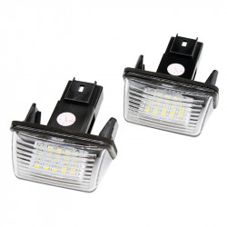 2X Modules à LED Peugeot Partner - 106 - 206+ - 207 - 306 - 307 - 308 - 406 - 407 - 3008 - 5008