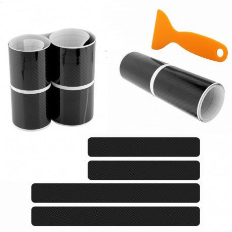 Pack Seuil de Portes VINYL 5D Carbone