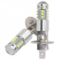 2X Ampoules LED H1 CREE 6000K 80W