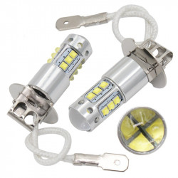 2X Ampoules LED H3 CREE 6000K