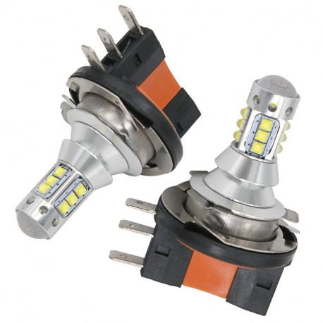 2X Ampoules LED H15 CREE 6000K