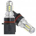 Ampoules LED P13W PSX26W CREE Blanc 6000K 80W
