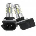 Ampoules LED H27 881 CREE Blanc 6000K 80W