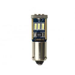 Ampoule 9 LEDS T4W BA9S Veilleuse Canbus