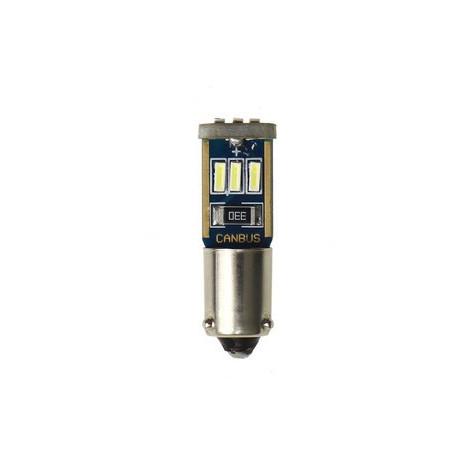 Ampoule 9 LEDS H6W BAX9S Canbus