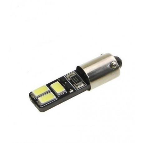 Ampoule 6 LEDS H6W BAX9S Canbus