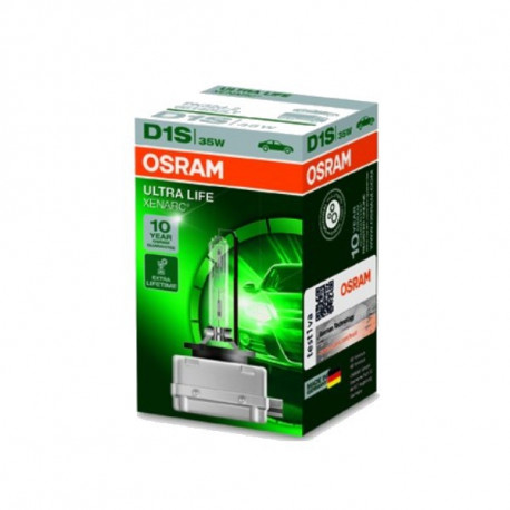 Ampoule Xénon D1S Osram Ultra Life 66140ULT