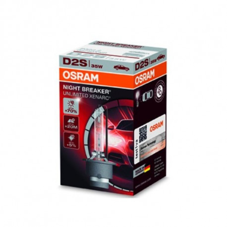 Ampoule Xénon D2S Osram Nightbreaker 66240XNB