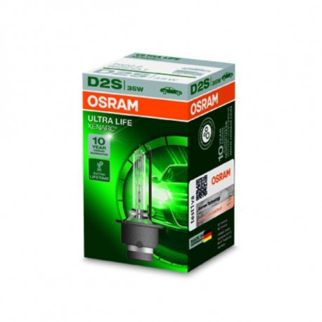 Ampoule Xénon D2S Osram Xénarc Ultra Life 66240ULT