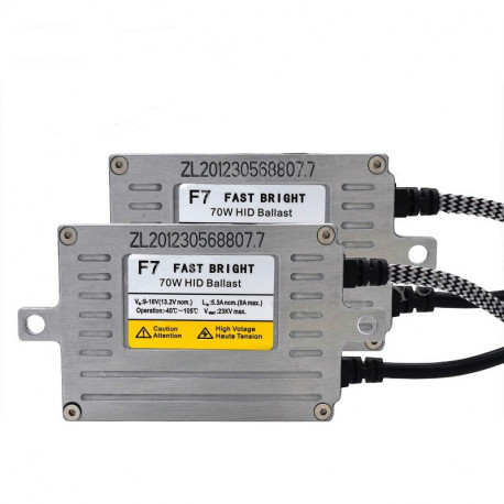 Ballast SLIM F7 HID 70W 12V